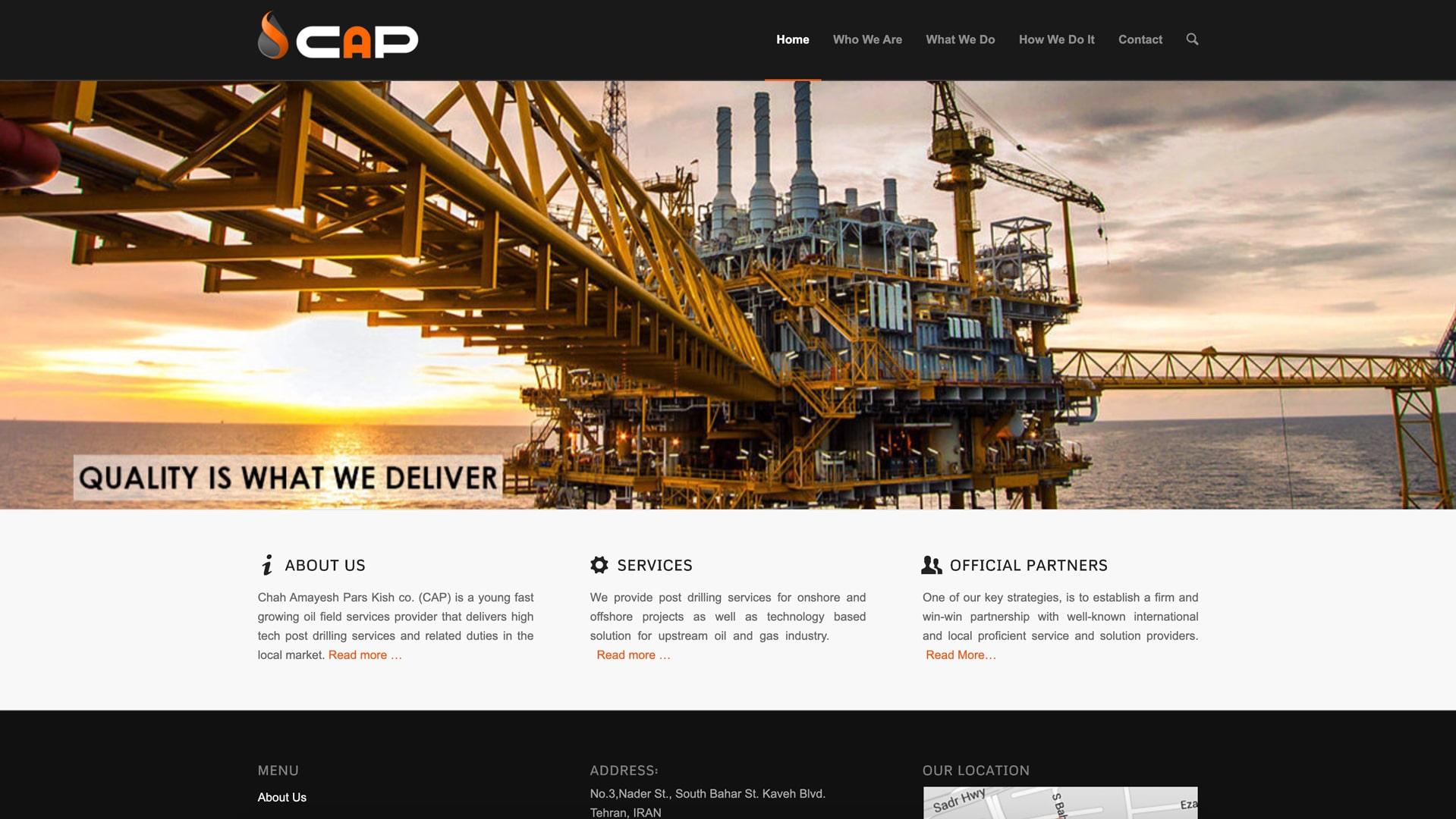 سایت CAP-OSF